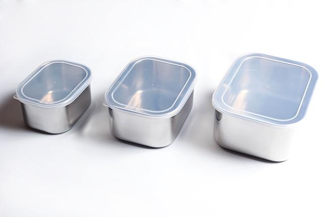サンダイヤ 角型シール容器